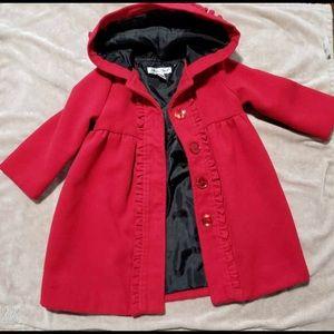 Jillian's closet red coat size 18 Months